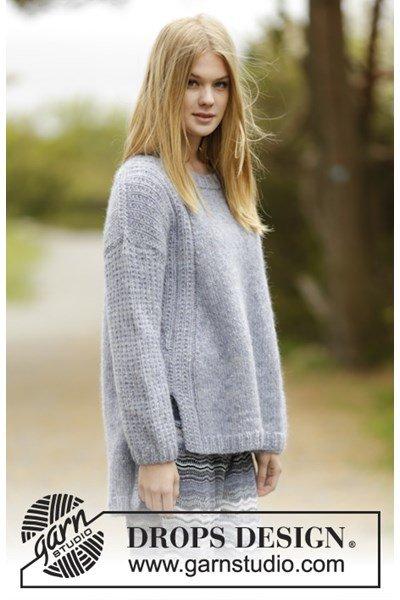 Breipatroon Wijdvallende trui