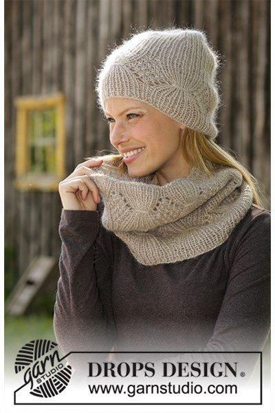 Breipatroon Muts en halswarmer