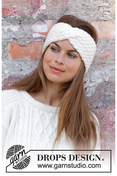 Breipatroon Haarband