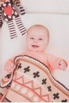 Haakpatroon Baby deken van andere kant