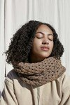 Haakpatroon Sjaal / omslagdoek van andere kant