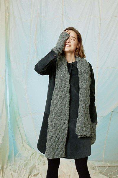 Breipatroon Sjaal voor dames