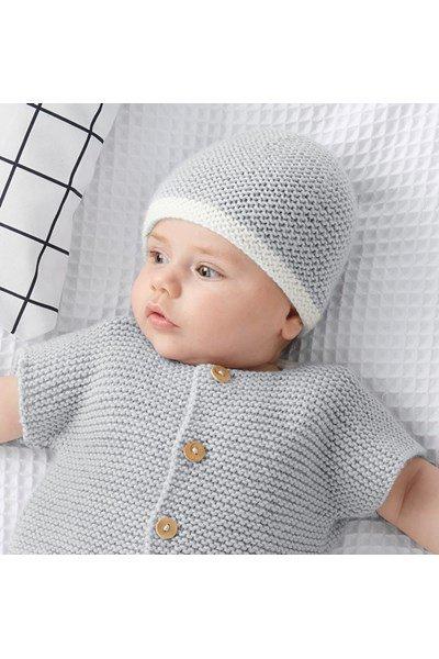 Breipatroon Baby muts
