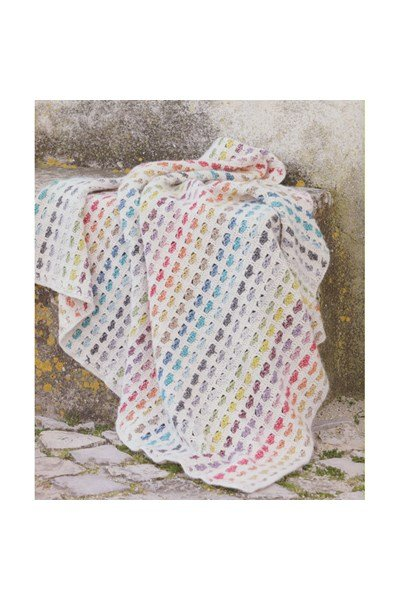 Haakpatroon Hartjes deken