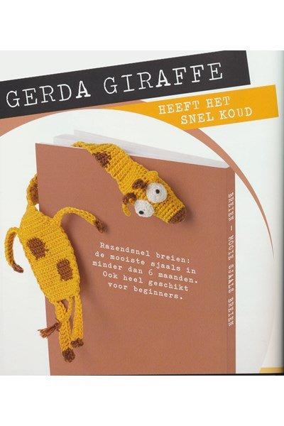 Haakpatroon Boekenlegger giraf