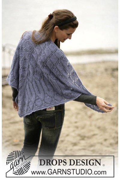 Brei- en haakpatroon Sjaal met bladmotief