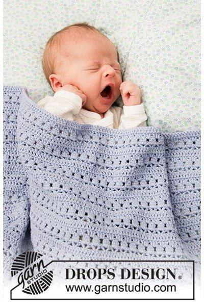 Haakpatroon Deken voor baby