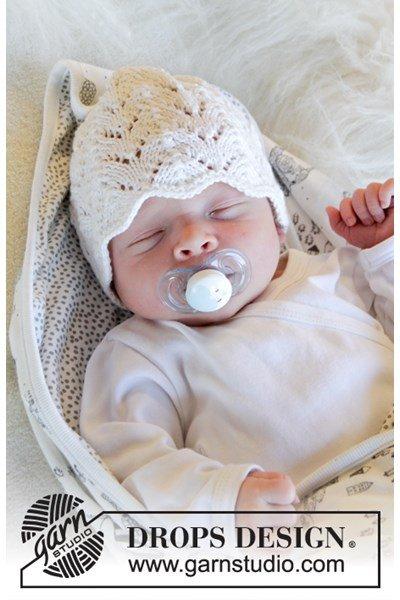 Breipatroon mutsje voor baby