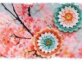 Haakpatroon bloem van het Durable ....