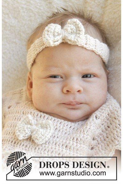 Brei- en haakpatroon Haarband voor baby