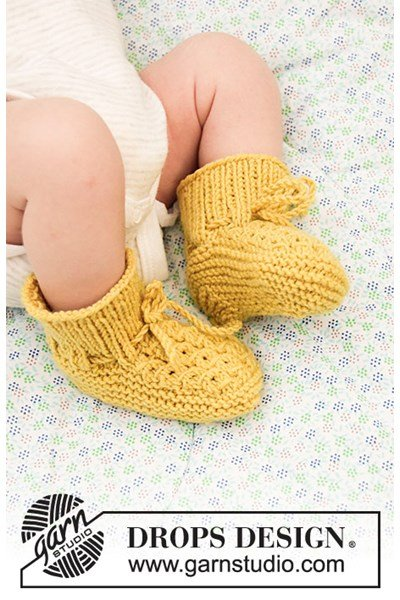 Breipatroon Babyslofjes
