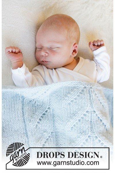 Breipatroon Babydeken