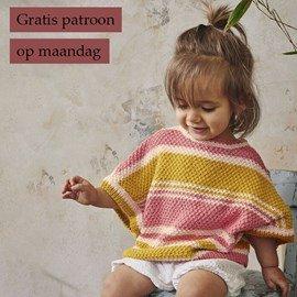 Gratis patroon - Breipatroon Meisjes shirt